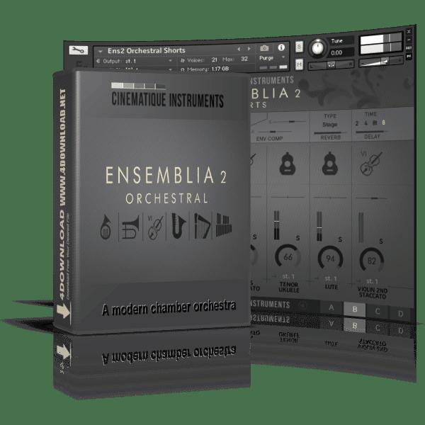 CINEMATIQUE INSTRUMENTS - Ensemblia 2 Orchestra KONTAKT Library