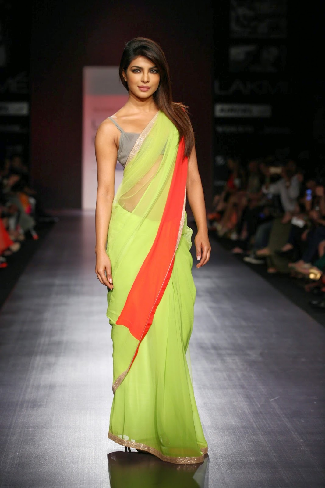 ffd5258bb2 Bollywood Actresses In Saree. If you are looking for one outfit which can  make ...
