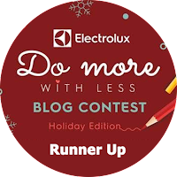 Electrolux Do More With Less Blog Writing Contest