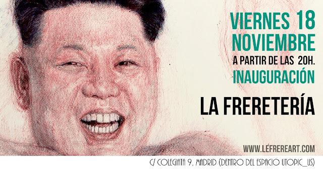 """""""La freretería"""",""""estudio"""",""""taller"""",""""inaguguración"""",""""Madrid"""""""