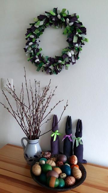 dekoracje recycling