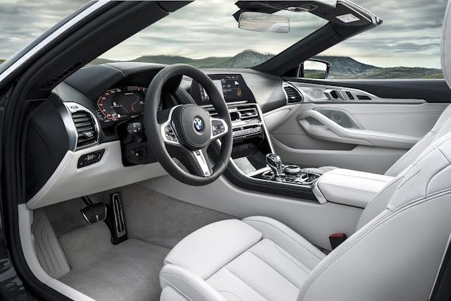 BMW 8シリーズ・カブリオレ インテリア