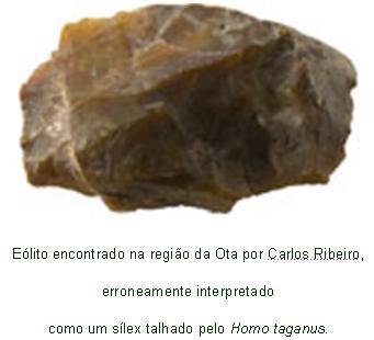 Resultado de imagem para pedras do geologista Carlos Ribeiro