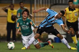 Grêmio e Palmeiras empataram sem gols na noite deste sábado a5b7d0b82df43