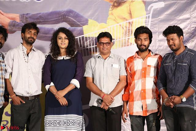 Star Cast of the movie Chinni Chinni Asalu Nalo Regene at its Trailer Launc Exclusive ~  02.JPG