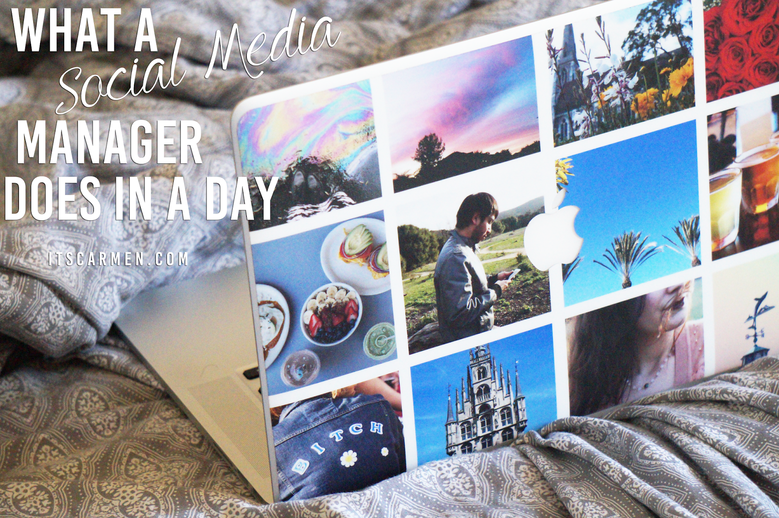 social media manager, california lifestyle blogger
