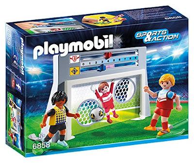 TOYS : JUGUETES - PLAYMOBIL Sports & Action 6858 Juego de puntería con marcador Producto Oficial Abril 2016   A partir de 5 años Comprar en Amazon España