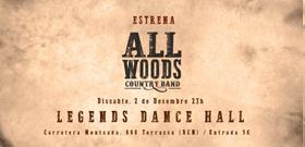 Concert de presentació Allwoods al Legends