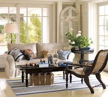 Pottery Barn Living Room Table