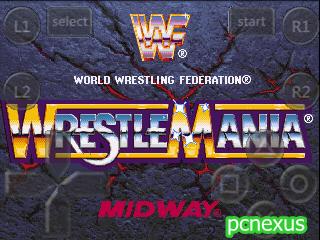 wwf wrestlemania arcade fpse
