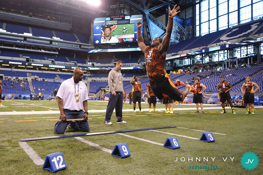 Johnny Vy Photography Blog: NFL Scouting Combine: Day 3