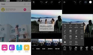 Aplikasi Edit Foto Keren Yang Sering Digunakan Di Instagram