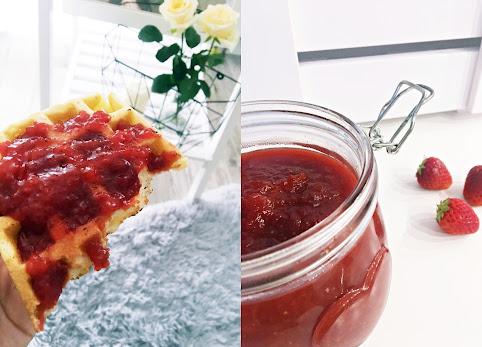 Jak zrobić dżem z truskawek? Przepis na pyszny dżem truskawkowo jabłkowy.