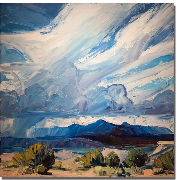 Chasing Santa Fe New Mexico Artist Louisa Mcelwain 1953 2013
