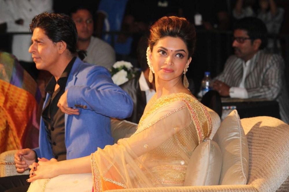 Deepika Padukone Photos In Designer White Saree