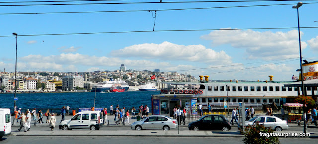 Porto de Kabatas, Istambul, Turquia