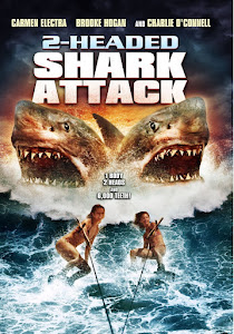 2 Headed Shark Attack 75MB BRRip 480P Dual Audio Full Movie