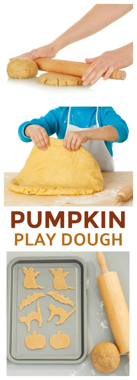 NO-COOK, TASTE-SAFE PUMPKIN PLAY DOUGH FOR KIDS
