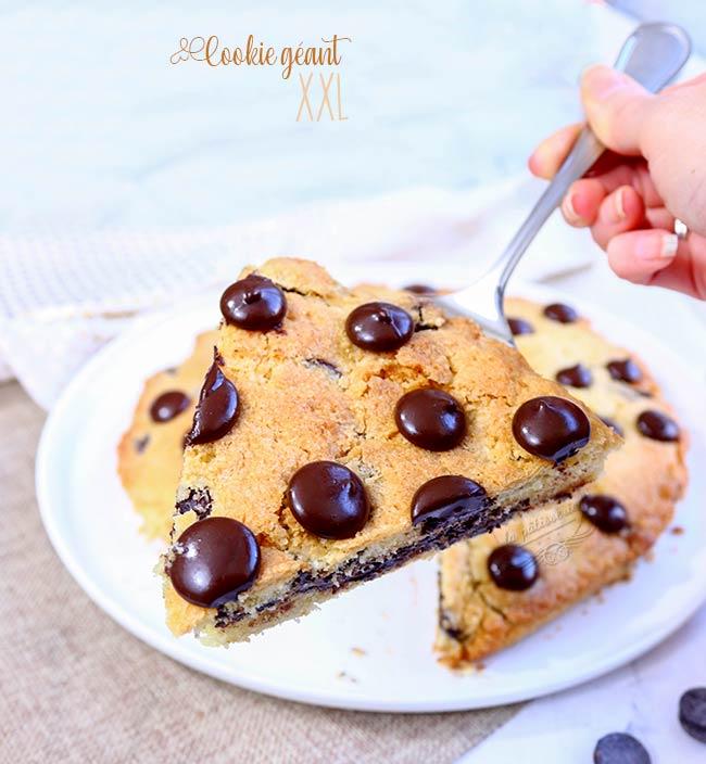 recette cookie xxl