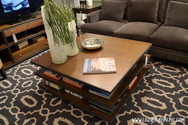Stanley Furniture Montreaux coffee table as seen at #LVMkt, July 2013