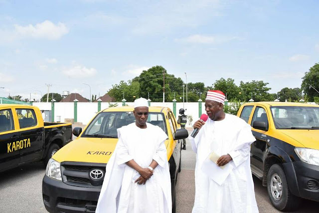 Kano State Gov Donates 29 Vehicles To Security Team