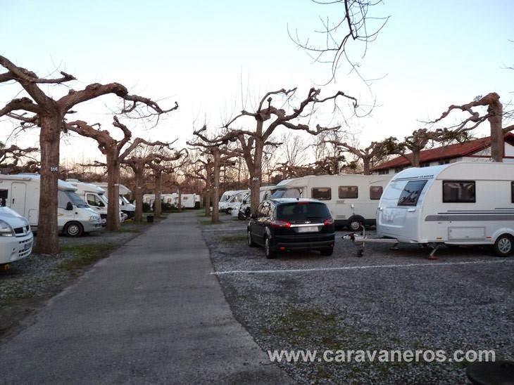 Foto de Camping Larrouleta San Juan de Luz. Invierno | caravaneros.com