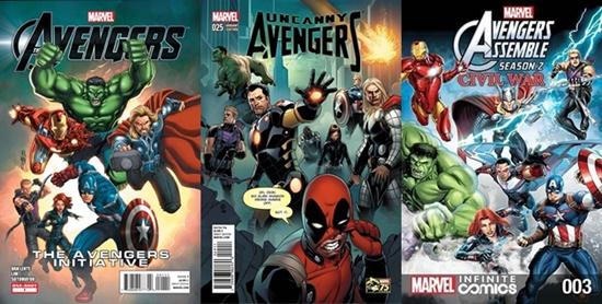 MCU Avengers : Perbezaan antara Filem dan Komik