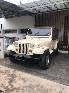 For Sale American Jeep CJ YJ 1981 Kondisi 90% Restorasi