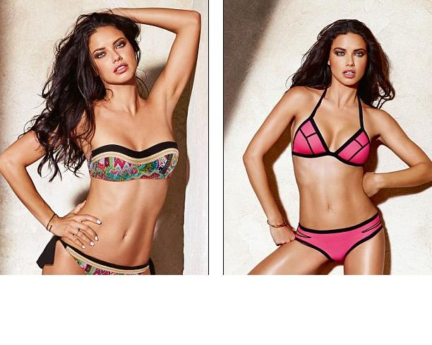 Hot girls Adriana Lima sexy Bra model from Brazil 9