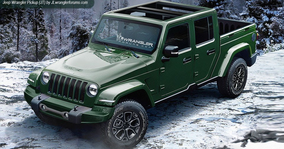 2018 Jeep Wrangler Looks Ready To Rock In Latest Renderings