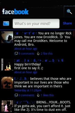 Black Facebook 2 3 (v2 3) Apk Download ~ RandomTech9