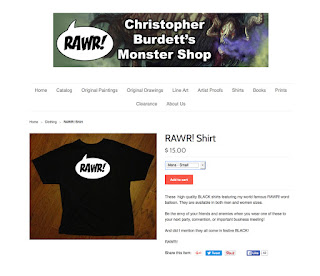 http://christopher-burdett.myshopify.com/collections/clothing/products/rawr-shirt-unisex-sizes-s-xl