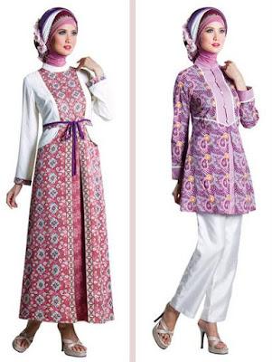Gambar Batik Muslim Terbaru