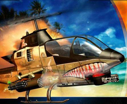 تحميل لعبة الاكشن حرب الهليكوبتر Helicopter كاملة للكمبيوتر