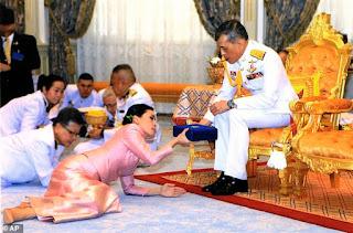 Thai King marries his Flight attendant