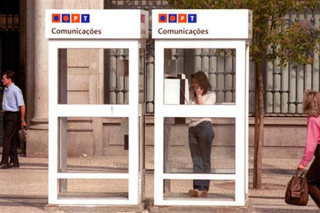... das Cabines Telefónicas