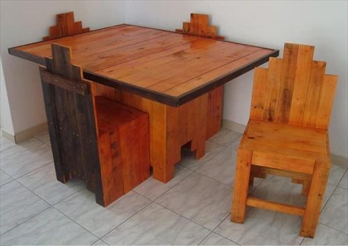 DIY Pallet Furniture for Garden
