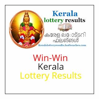 win win kerala lottery results