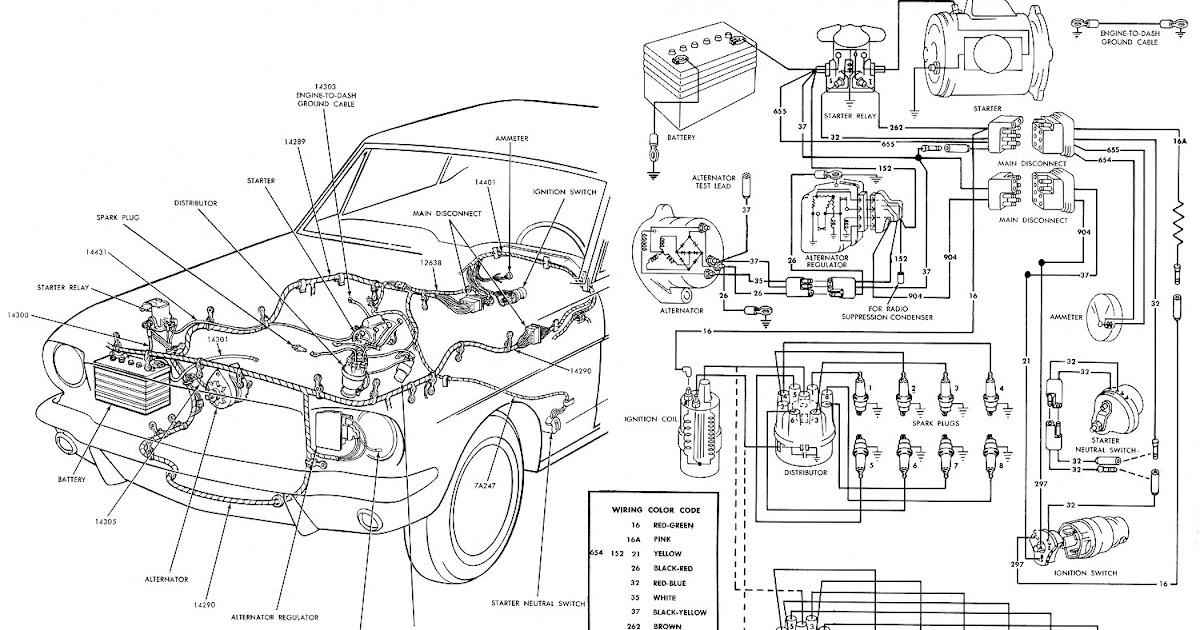 1966 mustang fog light wiring diagram