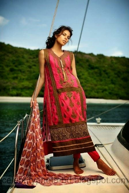 Firdous Exclusive Eid Dresses Collection 2014 2015 For Beautiful Girls