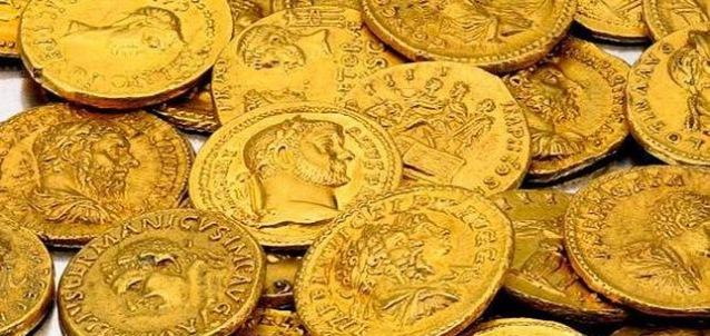 Monedas de oro romanas, obligaciones y Derecho romano