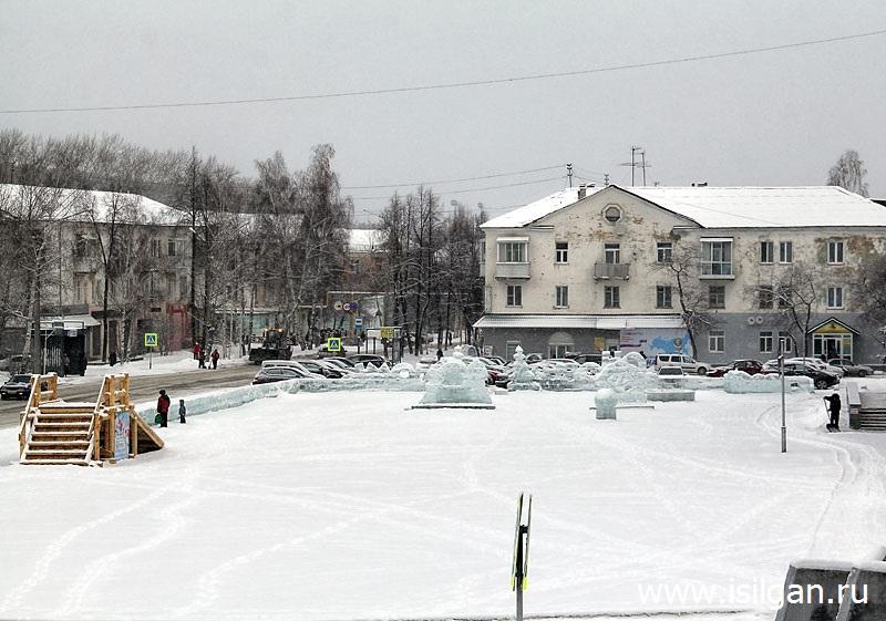 Ледовый городок 2018. Город Нижняя Тура. Свердловская область