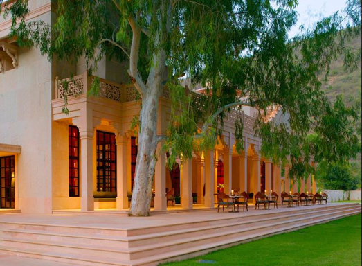Luxury resorts near Jaipur - Amanbagh
