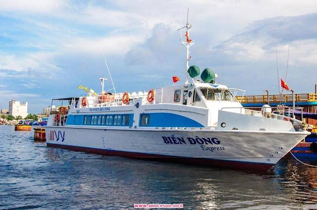 tàu cao tốc lý sơn
