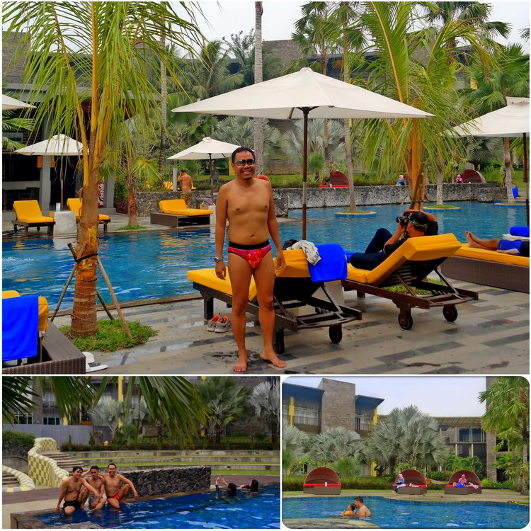 Kolam Renang Novotel Palembang