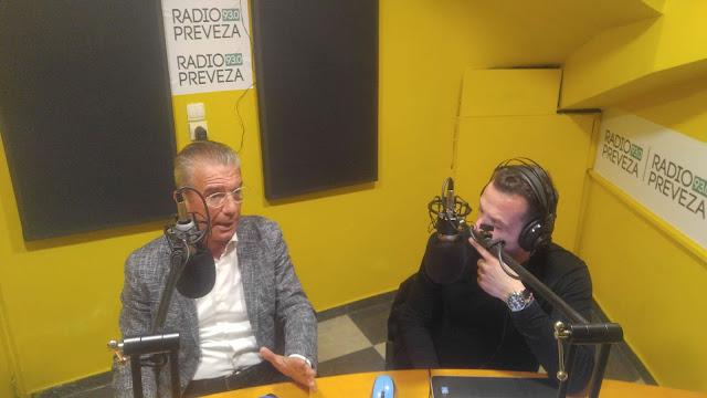 Πρέβεζα: Ο Στράτος Ιωάννου για την υποψηφιότητά του, τον Τουρισμό, τις Υποδομές και την ανάπτυξη της Ηπείρου - Ηχητικό