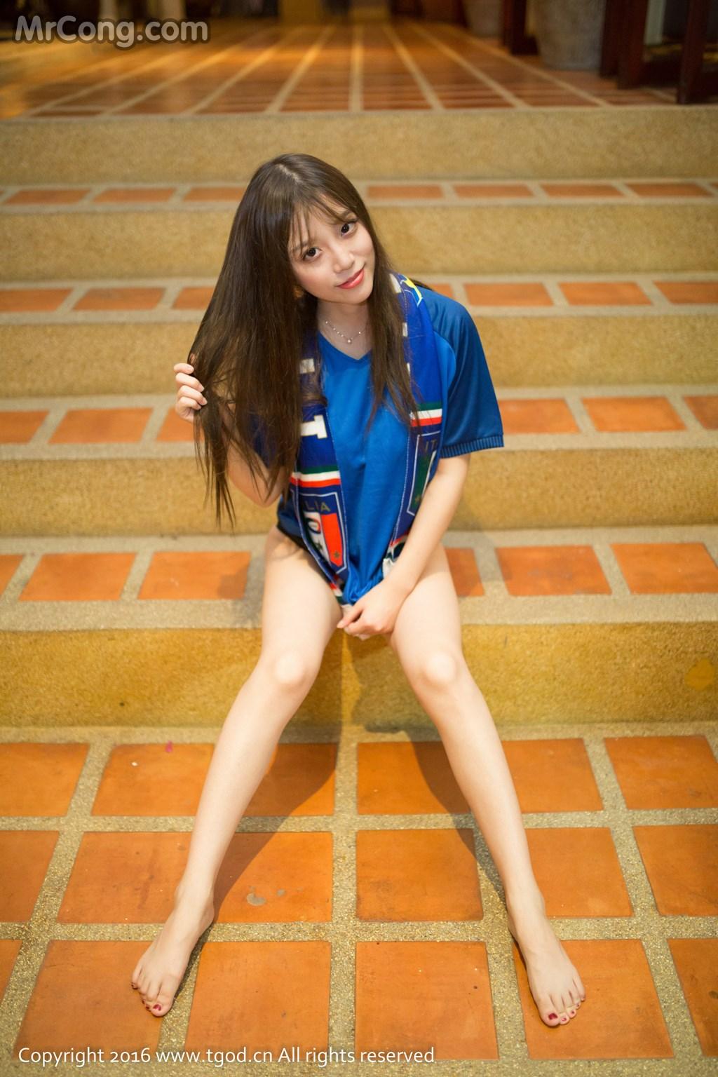 TGOD 2016-07-15: Người mẫu Cheng Tong Yan (程彤颜) (44 ảnh)