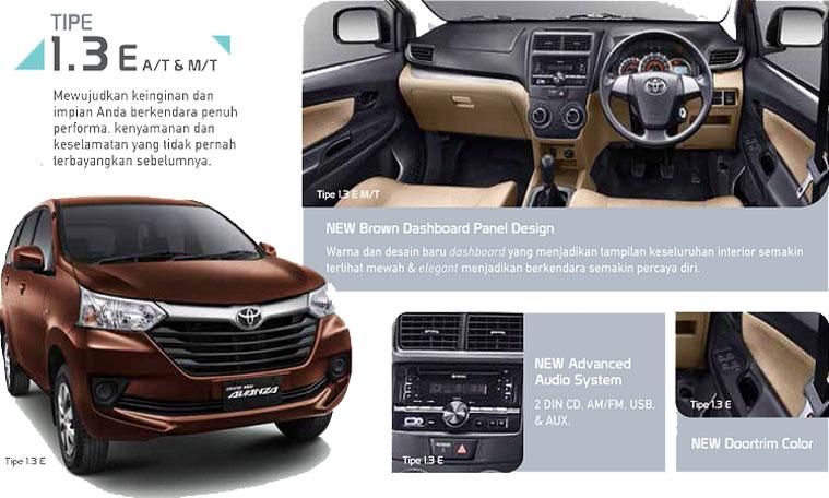 Perbedaan Grand New Avanza E Dan G 2016 Ukuran Ban Veloz Tipe Harga Bekas Terupdate Automotife