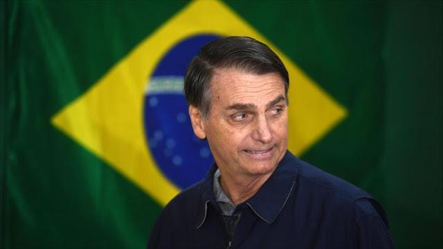 """Bolsonaro advierte que China no podrá """"comprar Brasil"""""""
