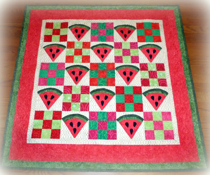 Doodlebugs and Rosebuds Quilts: The Watermelon quilt.... : watermelon quilt - Adamdwight.com